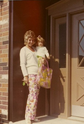 Me & My Mom June 1970