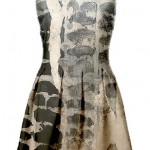 Nathalia Garcia painted dress