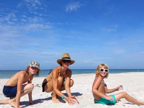 Beach living, sand castles, island living