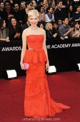 Michelle Williams Oscars 2012