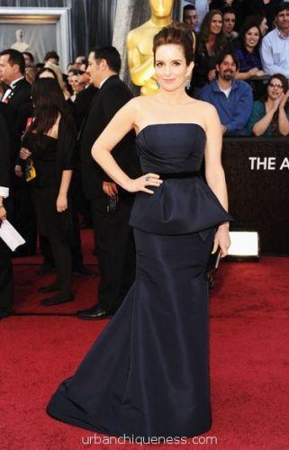 Tiny Fey Oscars 2012
