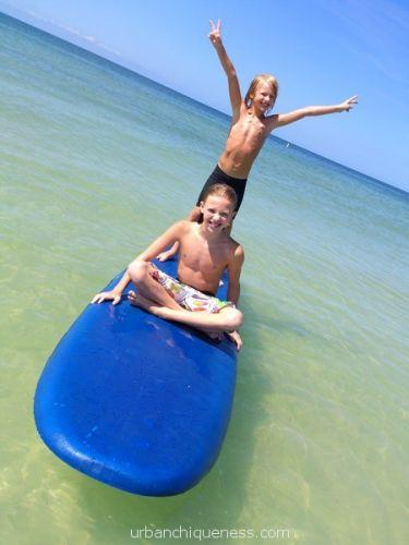 Paradise, paddleboard, snorkeling