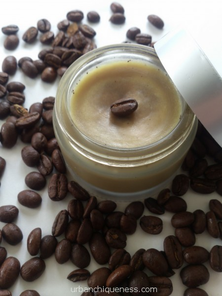 Coffee infused eye balm