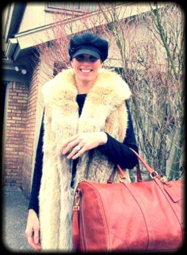 """""""Chique"""" Tip: Vintage Fur is In"""
