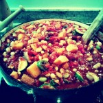 """Chique"" Recipe:  Veggie Chili"
