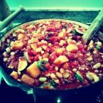 """""""Chique"""" Recipe:  Veggie Chili"""