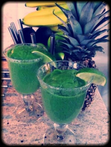 """Chique"" Recipe: Green Smoothie"