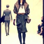 """Chique"" Brits: London Fashion Week"