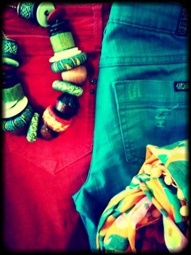 """""""Chique"""" Trend: Colored Denim"""