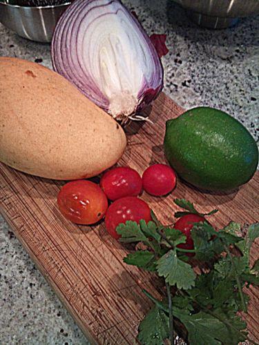 """Chique"" Recipe:  Mango Salsa"