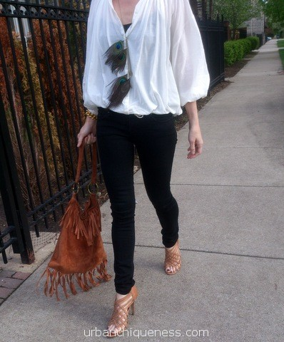"""Chique"" Find: The perfect white blouse"