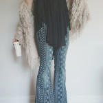 """Chique"" Bali Print Flares"